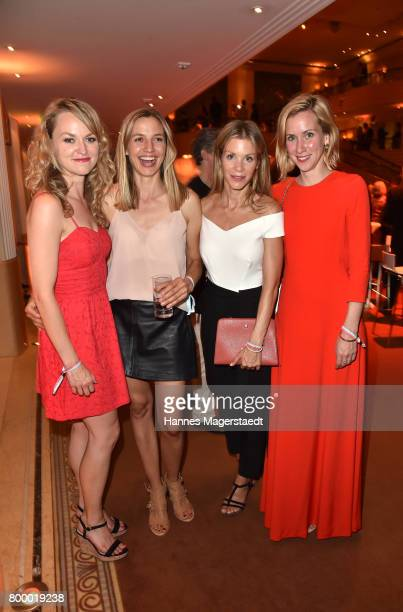 Lisa Wagner Annika Blendl Nina Gnaedig and Lena Doerrie during the opening night of the Munich Film Festival 2017 at Bayerischer Hof on June 22 2017...