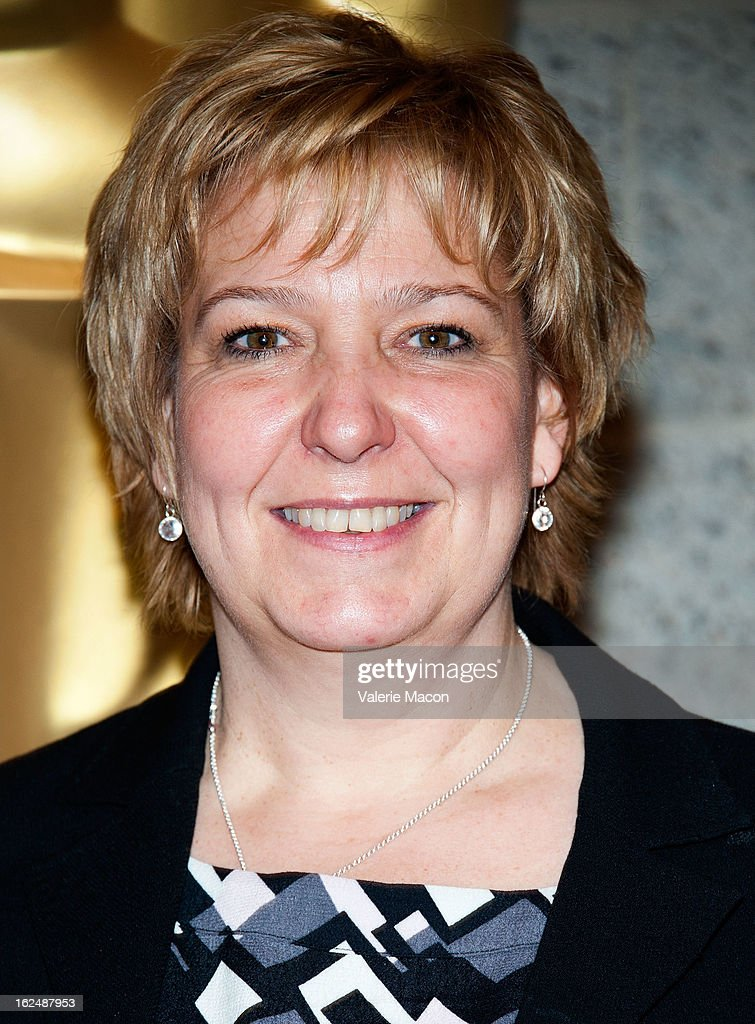 Lisa Westcott attends The Academy Of Motion Picture Arts And Sciences Presents Oscar Celebrates: Makeup And Hairstyling at the Academy of Motion Picture Arts and Sciences on February 23, 2013 in Beverly Hills, California.