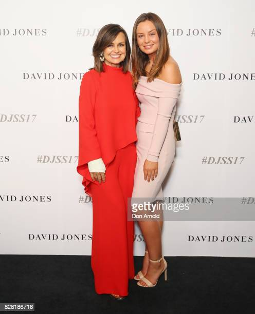 Lisa Wilkinson and Billie Fitzsimons arrive ahead of the David Jones Spring Summer 2017 Collections Launch at David Jones Elizabeth Street Store on...