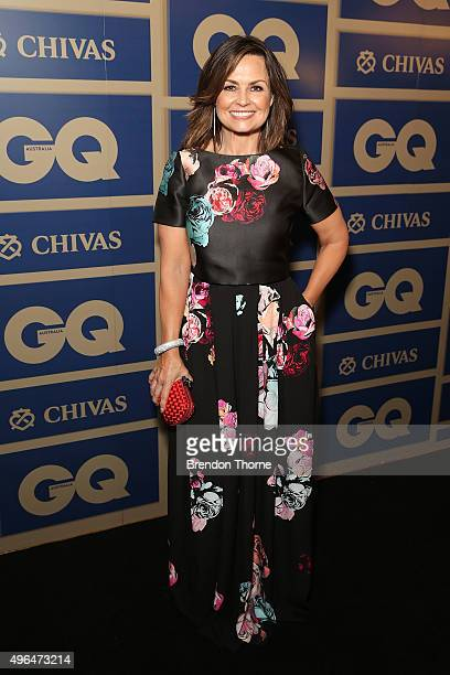 Lisa Wilkinson arrives ahead of the 2015 GQ Men Of The Year Awards on November 10 2015 in Sydney Australia