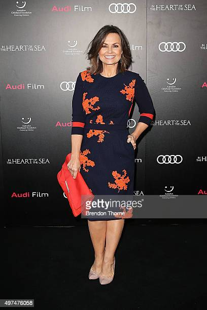 Lisa Wilkinson arrives ahead of the Audi Film Gala's exclusive charity screening of 'In The Heart of The Sea' at Hoyts Entertainment Quarter on...