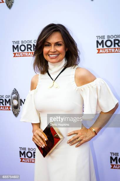 Lisa Wilkinson arrives ahead of The Book of Mormon opening night at Princess Theatre on February 4 2017 in Melbourne Australia