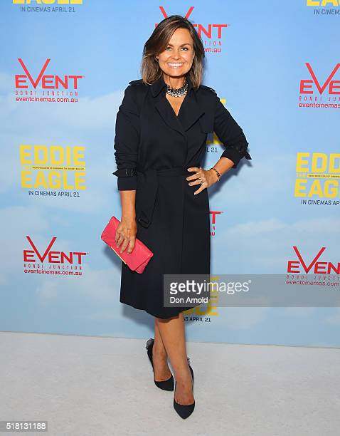 Lisa Wilkinson arrives ahead of the Eddie The Eagle screening at Event Cinemas Bondi Junction on March 30 2016 in Sydney Australia