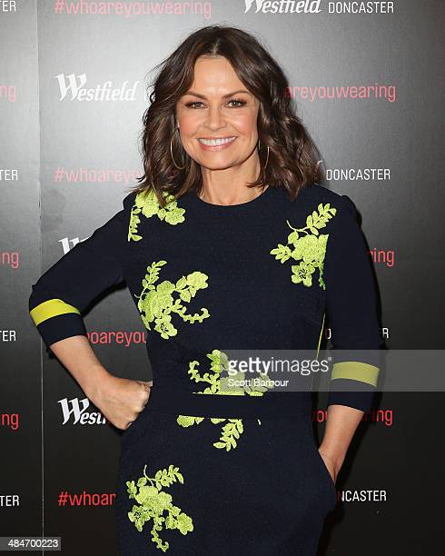 Lisa Wilkinson arrives at a red carpet event at Westfield Doncaster on April 14 2014 in Melbourne Australia