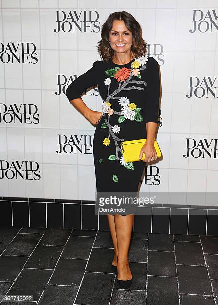 Lisa Wilkinson arrives at the David Jones Autumn/Winter 2015 Collection Launch at David Jones Elizabeth Street Store on February 4 2015 in Sydney...