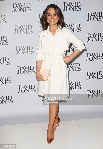 Lisa Wilkinson arrives at the David Jones Spring/Summer 2014 Collection Launch at David Jones Elizabeth Street Store on July 30 2014 in Sydney...