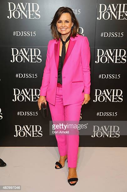 Lisa Wilkinson arrives at the David Jones Spring/Summer 2015 Fashion Launch on August 5 2015 in Sydney Australia