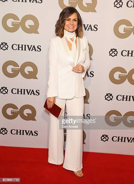 Lisa Wilkinson arrives at the GQ Men of the Year Awards 2016 at The Ivy on November 16 2016 in Sydney Australia