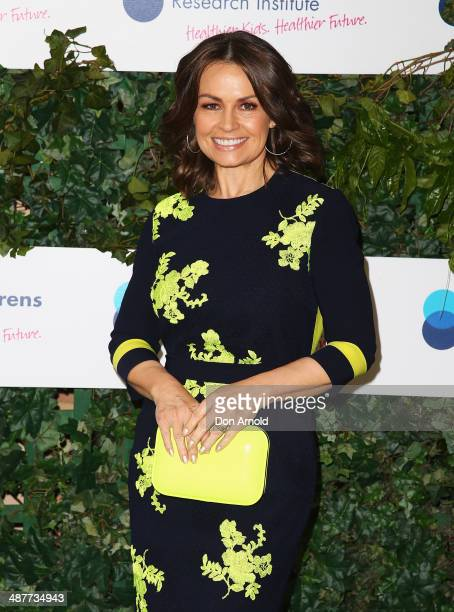 Lisa Wilkinson arrives at the Murdoch Childrens Research Institute Mother's Day Garden Party at Boomerang on May 2 2014 in Sydney Australia