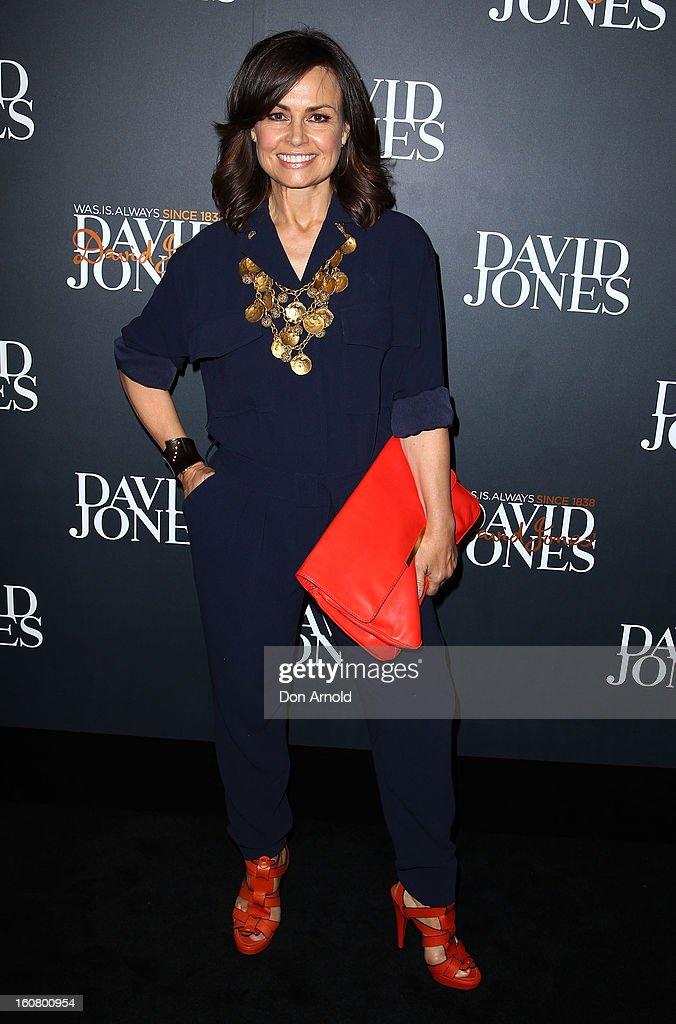 Lisa Wilkinson arrives for the David Jones A/W 2013 Season Launch at David Jones Castlereagh Street on February 6, 2013 in Sydney, Australia.