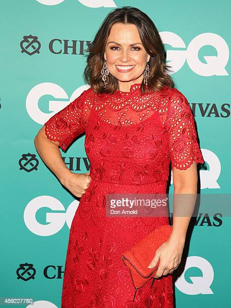Lisa Wilkinson arrives for the GQ Men Of The Year Awards 2014 at The Ivy on November 19 2014 in Sydney Australia