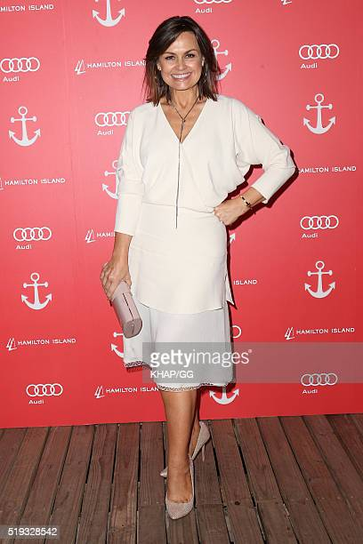 Lisa Wilkinson attends the 2016 Audi Hamilton Island Race Week Launch at Vaucluse Yacht Club on April 6 2016 in Sydney Australia