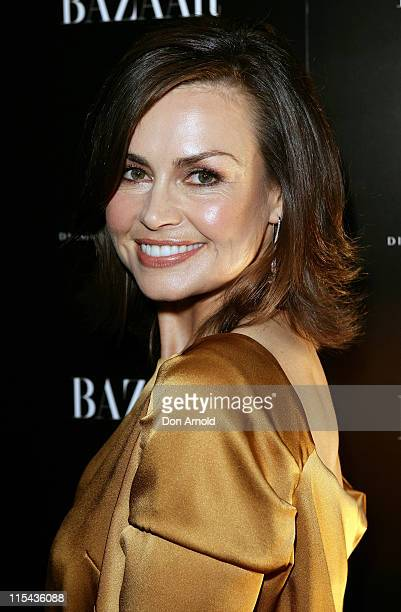 Lisa Wilkinson attends the Harper's Bazaar Diamond Guild Australia 2007 Jewellery Awards at the ShangriLa Hotel on October 24 2007 in Sydney...