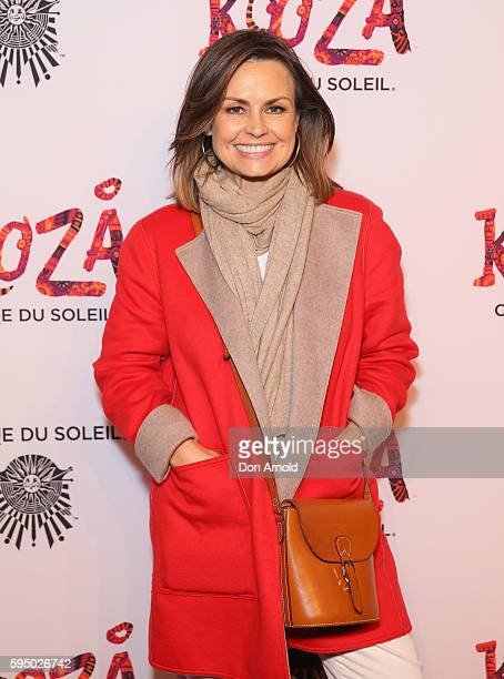 Lisa Wilkinson poses during the Cirque du Soleil KOOZA Sydney Premiere at The Entertainment Quarter on August 25 2016 in Sydney Australia