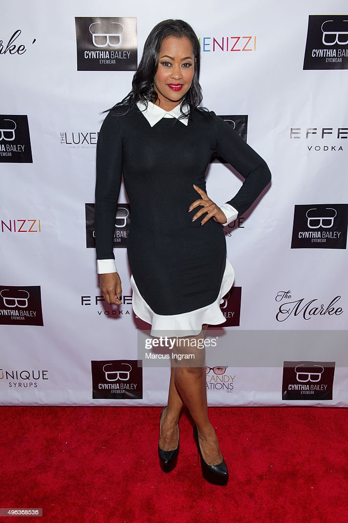 Lisa Wu attends the 'Real Housewives of Atlanta' season 8 viewing party hosted by Cynthia Bailey and Tiffany Williams at The Marke on November 8 2015...