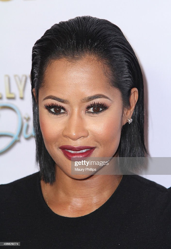 Lisa Wu attends TV One's newest reality series 'Hollywood Divas' Los Angeles Premiere Party at OHM Nightclub on October 7 2014 in Hollywood California