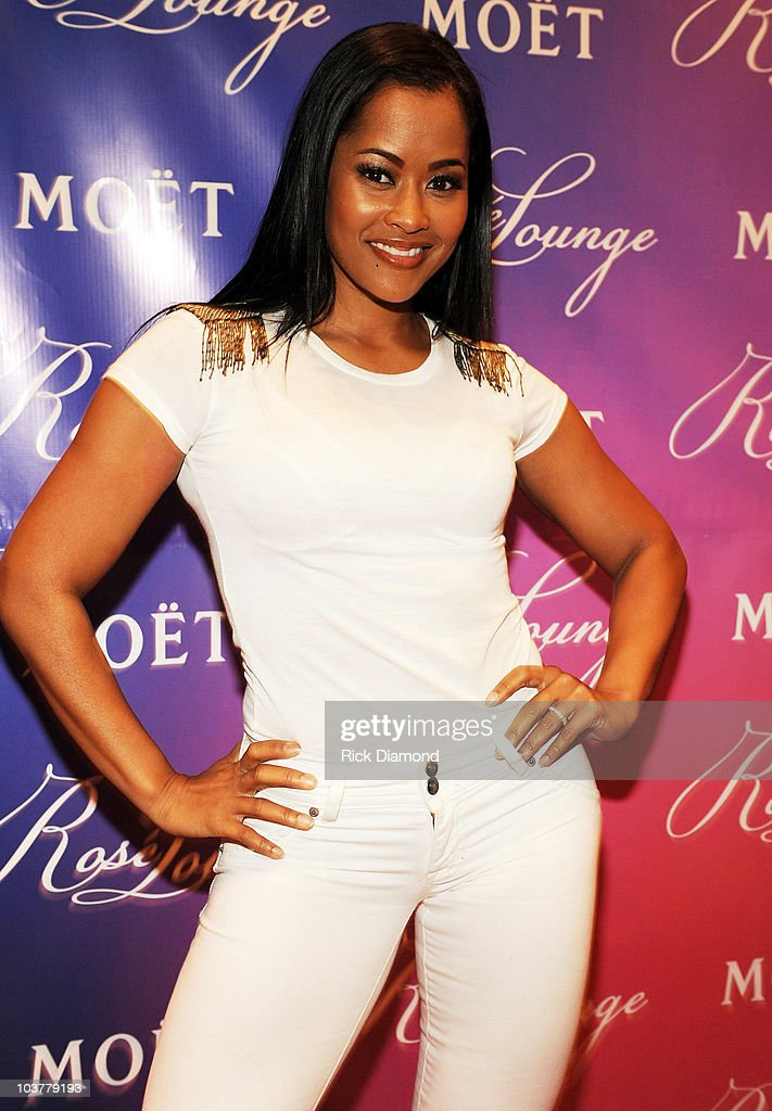 Lisa Wu Hartwell attends Champagne Life for the Moet Rose Lounge at MF Sushi Buckhead on September 1 2010 in Atlanta Georgia