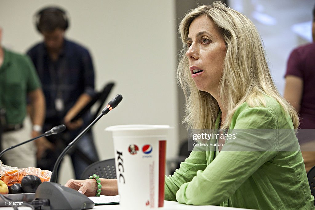 Lisa Young, PhD, RD, a researcher on portion sizes, adjunct professor at New York University and author of the Portion Teller Plan, speaks in support of a proposed ban on the sale of certain sizes of sugary soft drinks at public hearing in front of the Board of Health at the Department of Health and Mental Hygiene in the Queens borough of New York, July 24, 2012. Under the proposed ban, sugary soft drinks with no nutritional value would not be allowed to be sold in sizes over 16 ounces. The hearing is the only scheduled hearing before the city's board of health votes on the proposal in September.