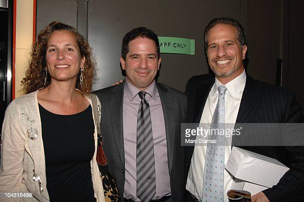 Lisa Zable Executive Producer David Zabel and Richard Zabel attend the opening night party for the 6th annual New York Television Festival at the SVA...