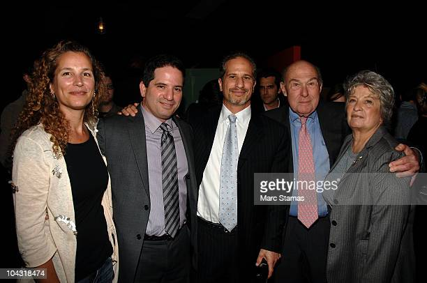 Lisa Zable Executive Producer David Zabel Richard Zabel Eleanor Alter and Alan Lamb attend the opening night party for the 6th annual New York...
