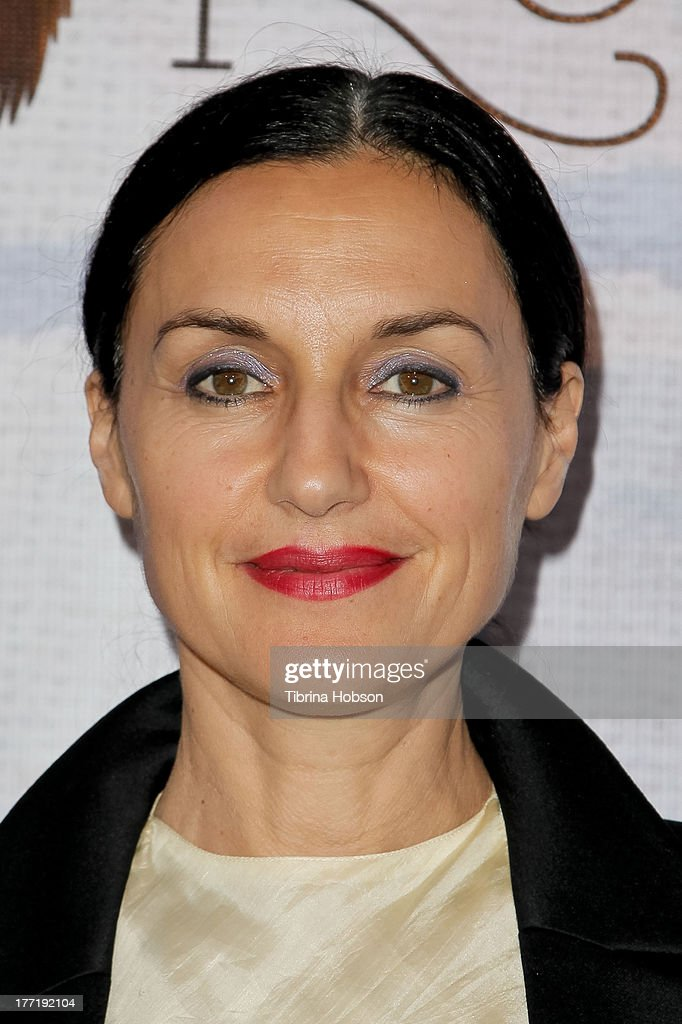 Lisa Zane attends the artist's reception for Billy Zane's solo art exhibition 'Seize The Day Bed' on August 21, 2013 in Los Angeles, California.
