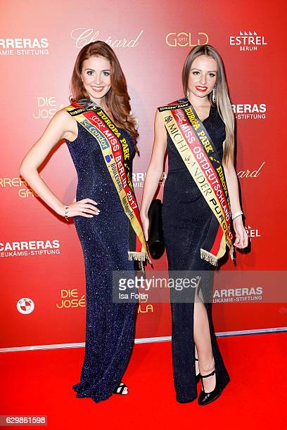 Lisa Zerna and Partrycja Kupka attend the 22th Annual Jose Carreras Gala on December 14 2016 in Berlin Germany