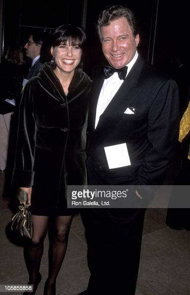 Lisabeth Shatner and William Shatner during 49th Annual Golden Globe Awards at Beverly Hilton Hotel in Beverly Hills California United States