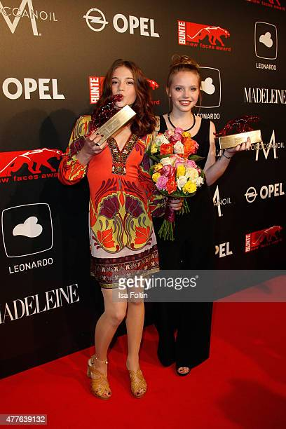LisaMarie Koroll and Lina Larissa Strahl attend the New Faces Award Film 2015 at ewerk on June 18 2015 in Berlin Germany