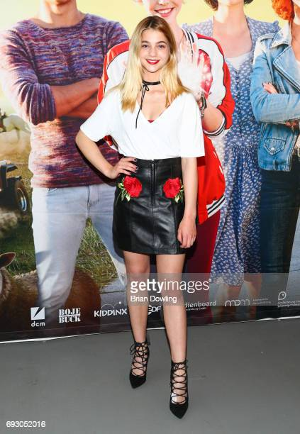 LisaMarie Koroll attends the Bibi and Tina photo call and award reception at Atelier on June 6 2017 in Berlin Germany