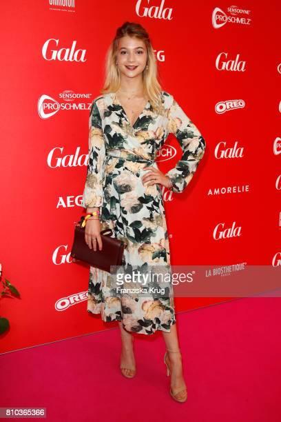 LisaMarie Koroll attends the Gala Fashion Brunch during the MercedesBenz Fashion Week Berlin Spring/Summer 2018 at Ellington Hotel on July 7 2017 in...