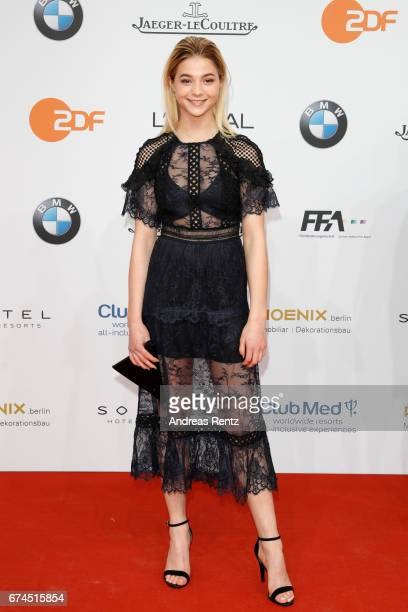 LisaMarie Koroll attends the Lola German Film Award red carpet at Messe Berlin on April 28 2017 in Berlin Germany