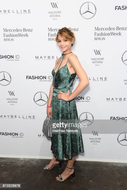 LisaMarie Koroll attends the Prabal Gulung Design show during the MercedesBenz Fashion Week Berlin Spring/Summer 2018 at Kaufhaus Jandorf on July 7...