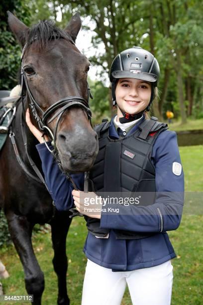 LisaMarie Koroll attends the Till Demtroeders CharityEvent 'Usedom Cross Country' at Schloss Mellenthin on September 9 2017 near Heringsdorf at...