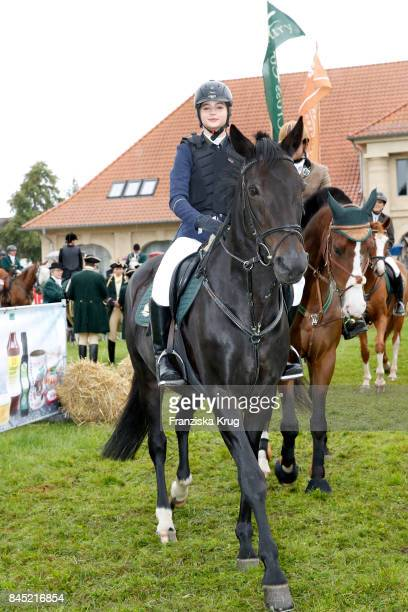 LisaMarie Koroll attends the Till Demtroeders CharityEvent 'Usedom Cross Country' at Schloss Stolpe on September 9 2017 near Heringsdorf at Usedom...