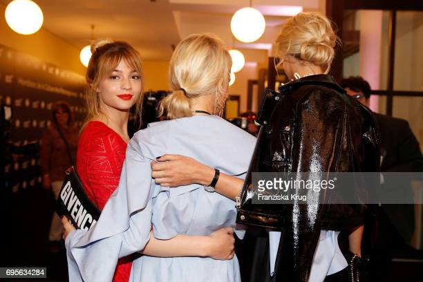 LisaMarie Koroll Caro Daur and Lena Gercke attend the Montblanc De La Culture Arts Patronage Award 2017 at Humboldt Carre on June 13 2017 in Berlin...