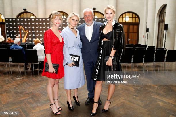 LisaMarie Koroll Caro Daur HansReiner Schroeder and Lena Gercke attend the Montblanc De La Culture Arts Patronage Award 2017 at Humboldt Carre on...