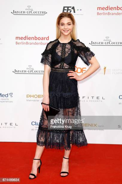 LisaMarie Koroll during the Lola German Film Award red carpet arrivals at Messe Berlin on April 28 2017 in Berlin Germany