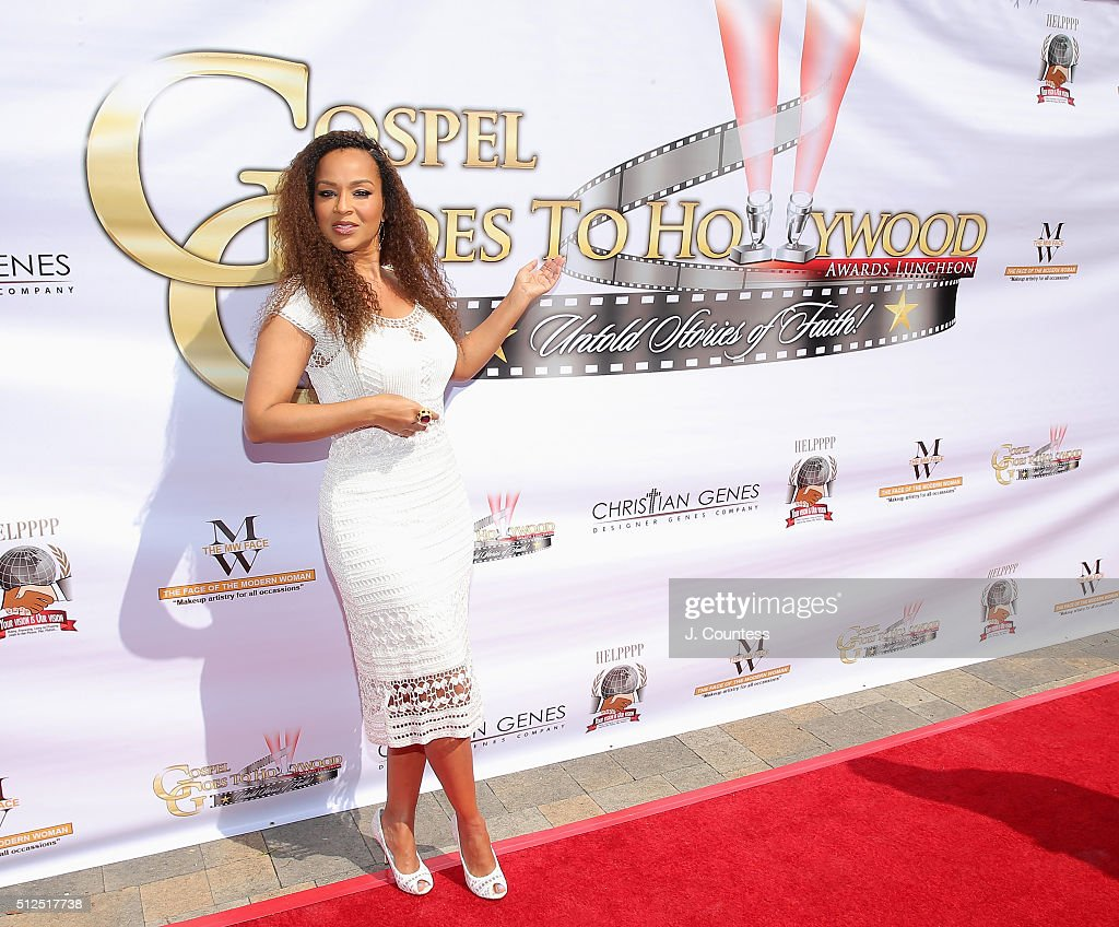 LisaRaye McCoy attends the Gospel Goes To Hollywood celebration at Vibiana on February 26 2016 in Los Angeles California