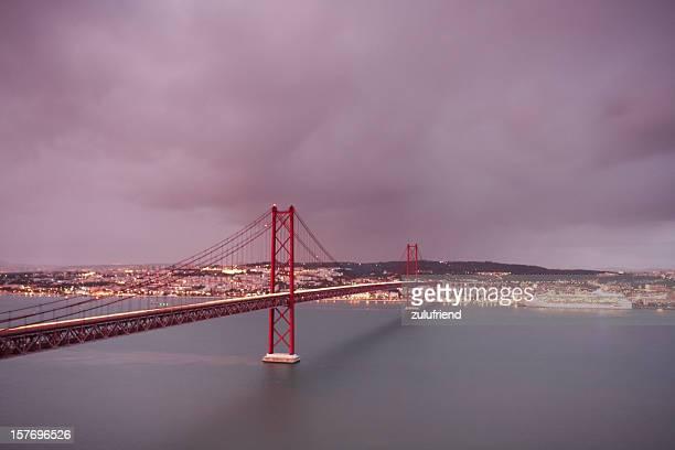 Lisboa, ao cair