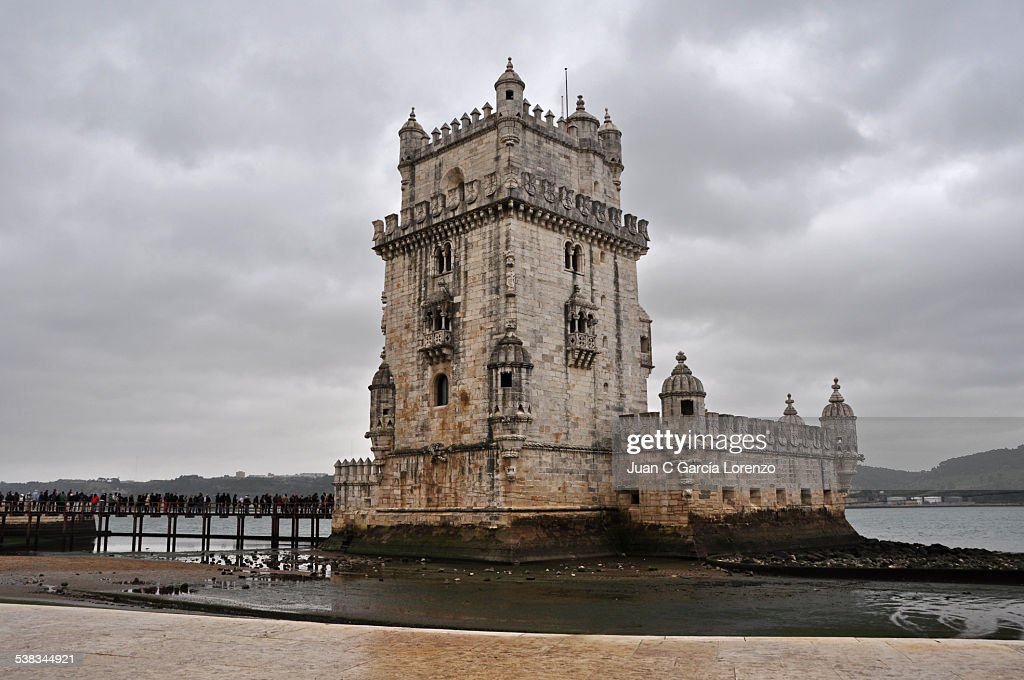 Lisbon. Belem Tower in winter