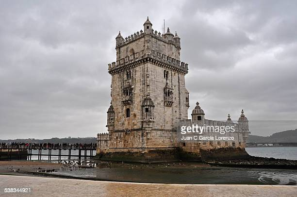 Lisbon. Belem Tower in winter