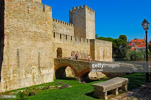 Lisbon St Georges Castle Castelo de Sao Jorge Portugal Europe