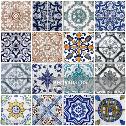 Lisbon tiles : Stock Photo