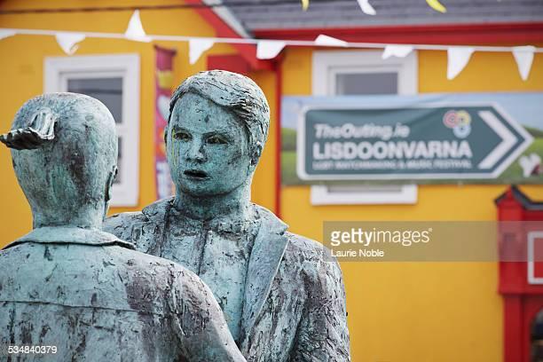 Lisdoonvarna statue, County Clare, Ireland