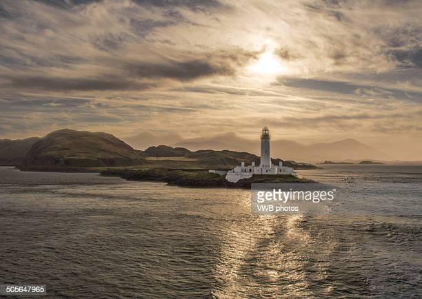 Lismore Lighthouse sunrise