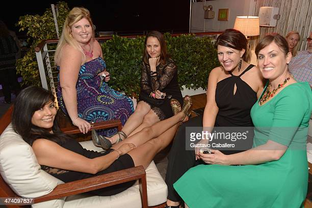 Lissa Strong Melissa Overton Kacey Bruno Alyssa Bushey and Lauren Mcewen attend Cigars Spirits Presented By Montage Hotels Resorts Brought To You By...
