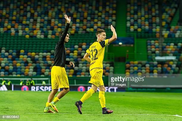 Lissabon Portugal UEFA Champions League 2016/17 Season Group F Matchday 3 Sporting Clube de Portugal BV Borussia Dortmund Dzenis Burnic BVB Nuri Sahin