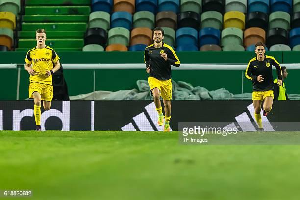 Lissabon Portugal UEFA Champions League 2016/17 Season Group F Matchday 3 Sporting Clube de Portugal BV Borussia Dortmund vl Dzenis Burnic Nuri Sahin...