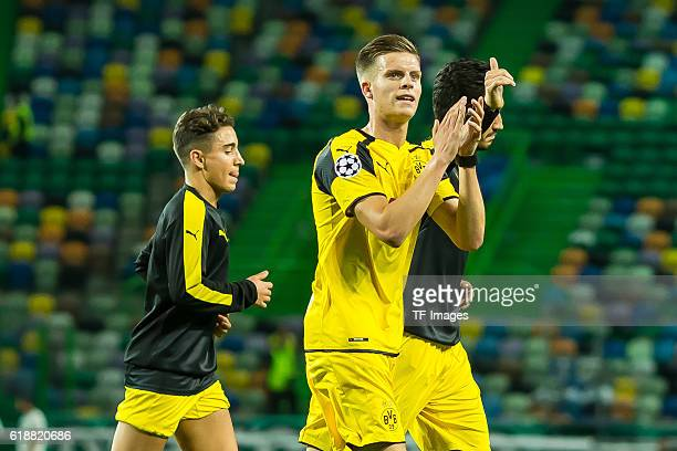 Lissabon Portugal UEFA Champions League 2016/17 Season Group F Matchday 3 Sporting Clube de Portugal BV Borussia Dortmund Dzenis Burnic