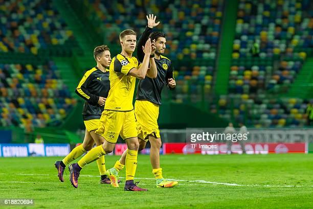 Lissabon Portugal UEFA Champions League 2016/17 Season Group F Matchday 3 Sporting Clube de Portugal BV Borussia Dortmund Dzenis Burnic Nuri Sahin...